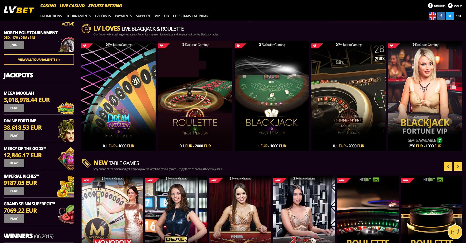Lv Bet Casino Review Lv Bet Casino Bonus 2020 Top69casinos